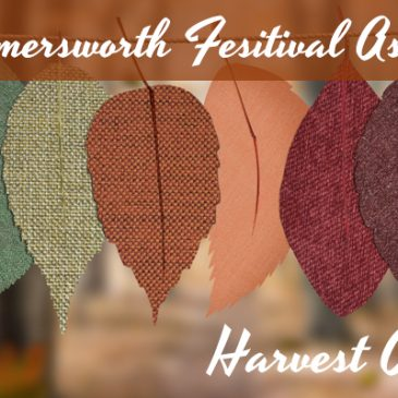 New Hampshire Coalition for the Support of Service Dogs event banner for the harvest craft fair