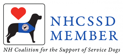 New Hampshire Coalition for the Support of Service Dogs Member Badge