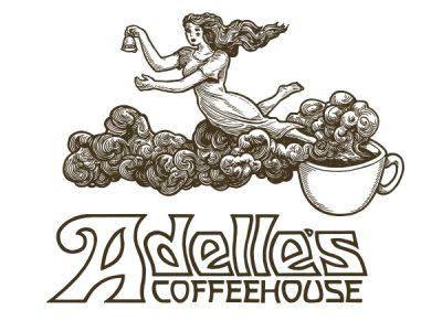 Adelles Coffee logo