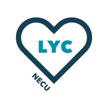 NECU LYC logo